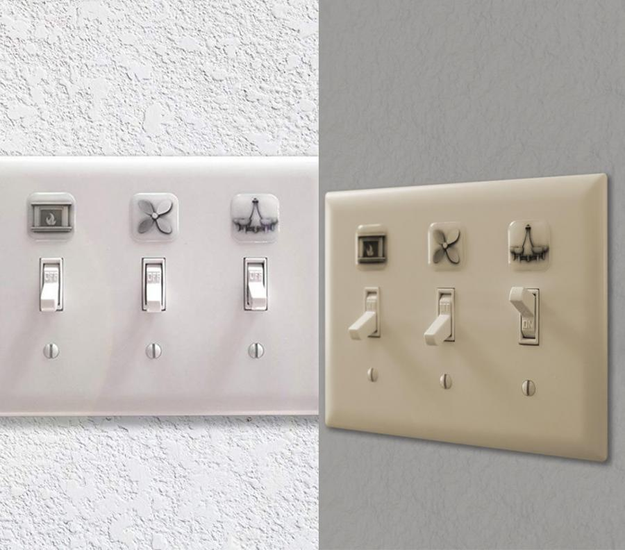 These Light Switch Labels Help Identify What Switch Is For