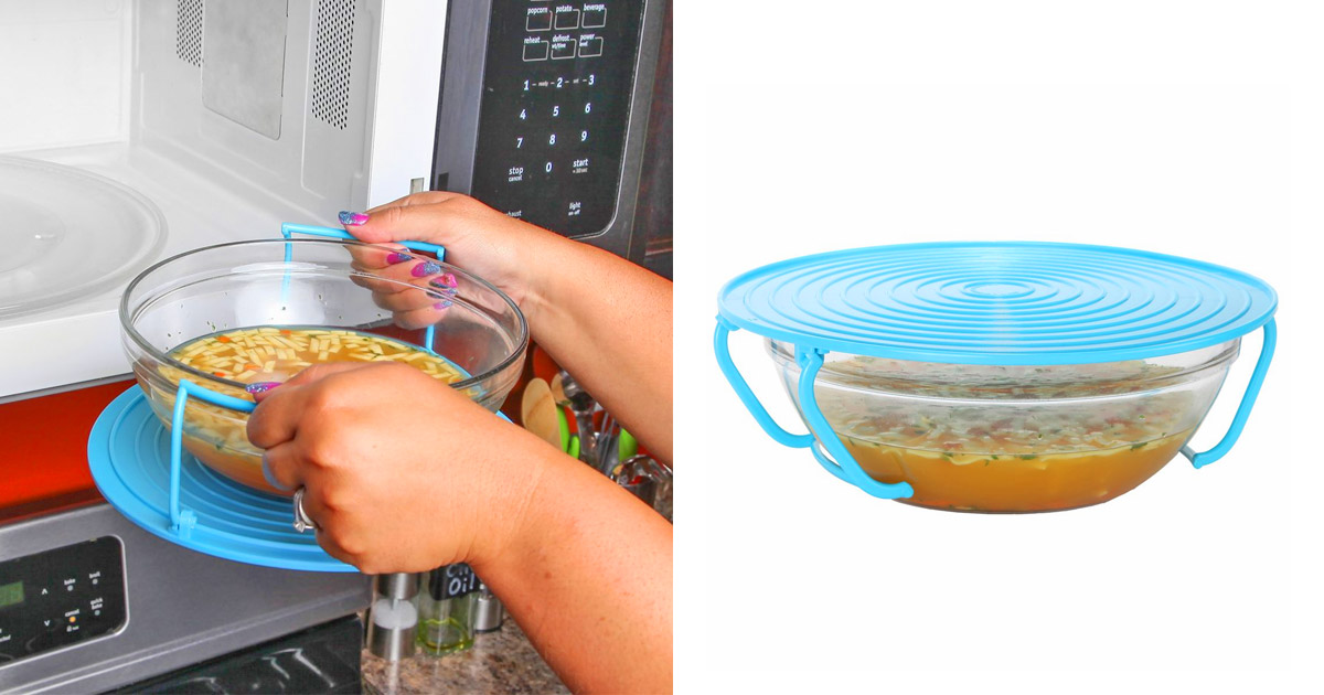 safely remove scalding hot bowls from