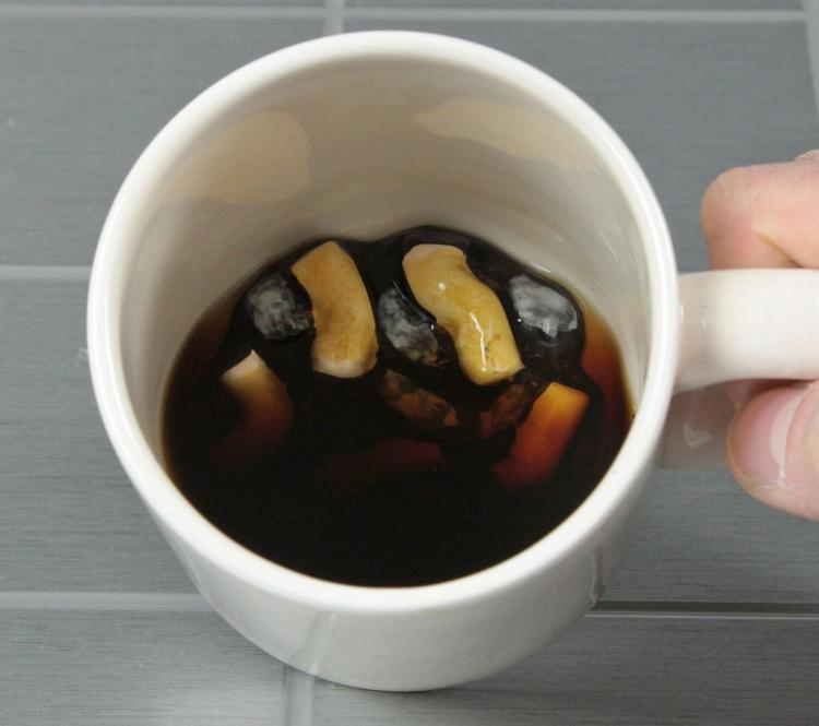 This Prank Coffee Mug Looks Like A Dirty Ashtray Full Of