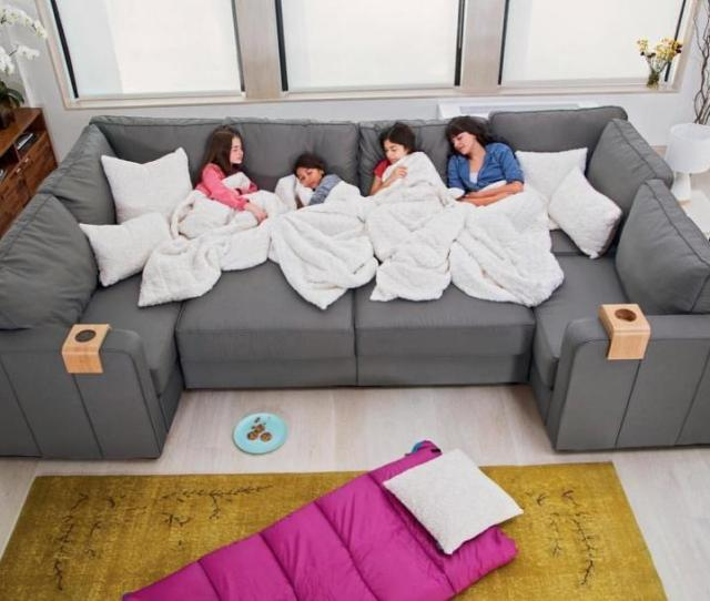Lovesac Sactional Modular Sectional Couch Lets You Create Any Seating Arrangement