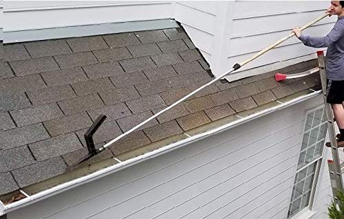 The Gutter Tool - Genius gutter debris cleaning tool