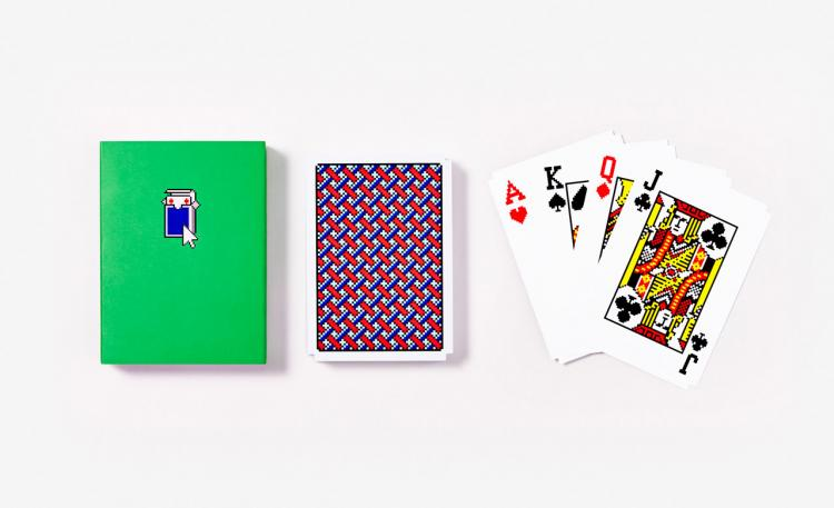These Playing Cards Are Made To Look Like Solitaire From