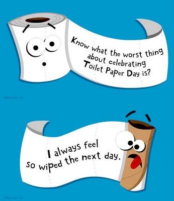 August 26, 2012: National Dog Day, Toilet Paper Day, Cherry Popsicle Day