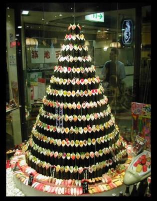 sushi-christmas tree