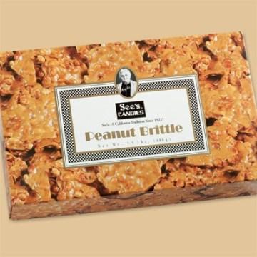 see's - peanut - brittle