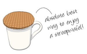 Dutch stroopwafels
