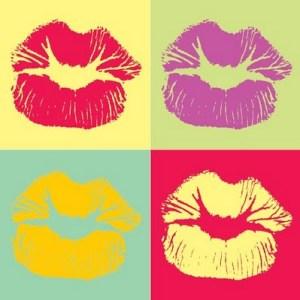 warhol lips