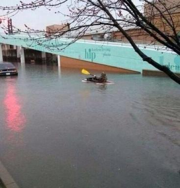 Chicago flooding