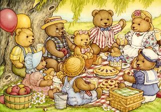 Pina Colada Day, Teddy Bear Picnic Day