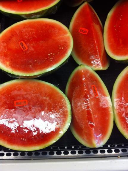 Boneless watermelon