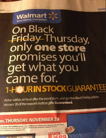 Wal-Mart Ad