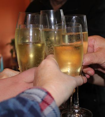 Thanksgiving Champaign Toast