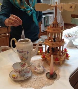 estate sale tea party
