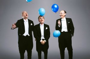 Nobel Prize winners… with balloons