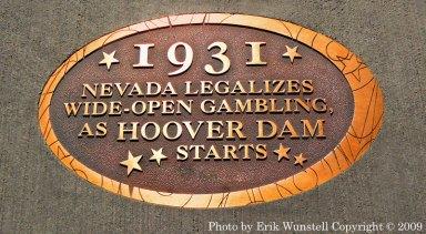 Nevada legalized gambling
