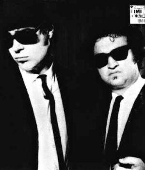John Belushi and Dan Aykroyd