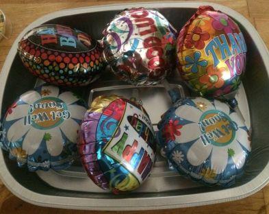Balloones cake