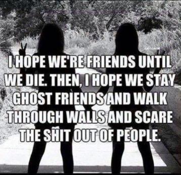 ghost friends