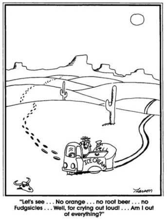 Gary Larson, far side, Creamsicle Day