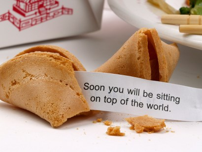 Peanut Day, Fortune Cookie Day