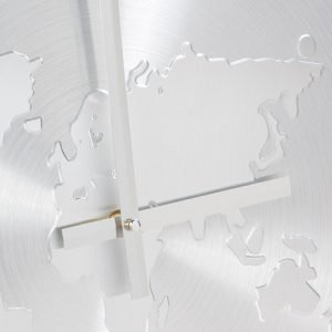 Alumiininen-Maailmankartta-Seinäkello-1