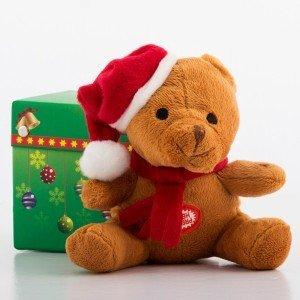 Joulu-Pehmolelu-Äänellä-ja-Koristeellisella-Rasialla-1