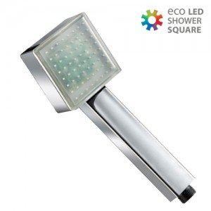 Neliskulmainen-LED-Valo-Suihkupää-1