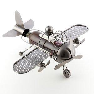 Aviator-by-Homania-Metallinen-Viinipulloteline-1