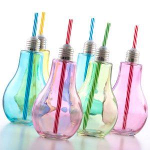 Värilliset-Hehkulamppu-Juomalasit-Pillillä-400-ml-6-kpl-pakkaus-1