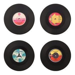 Vintage-Vinyylilevy-Aluset-4-kpl-setti-1