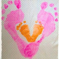 Baby Prints : Crafts to do to your baby!