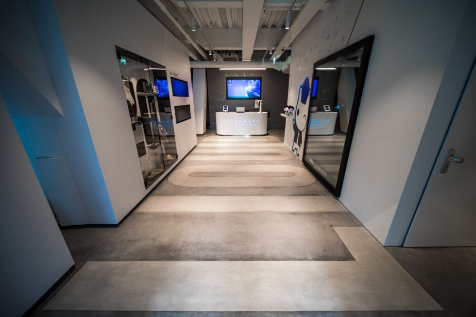AlienWare Training Facility EU - Team Liquid Entrance Hall