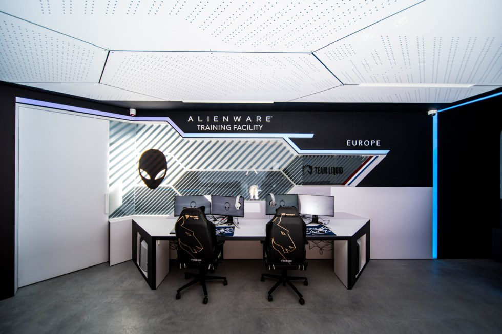 AlienWare Training Facility EU - Team Liquid Scrim Rooms