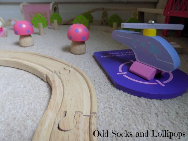 The BigJigs Fairy Town Train Set Review - 4