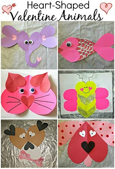heart-shaped-valentines-day-animal-crafts A