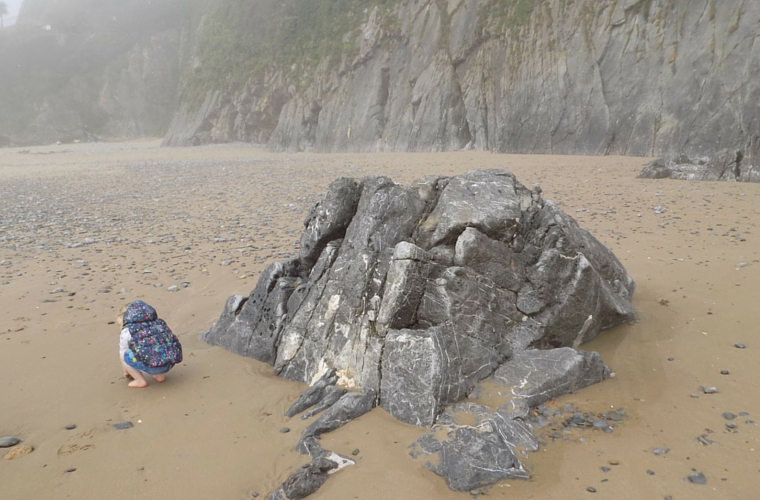 A day out in Tenby - rocks