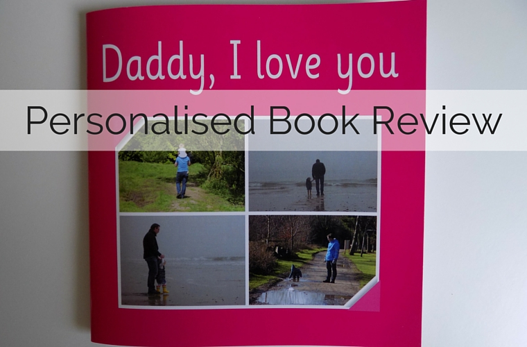 Personalised Book Review - Daddy I Love You - Personalised Book Review from Love2Read - the perfect gift for Father's Day