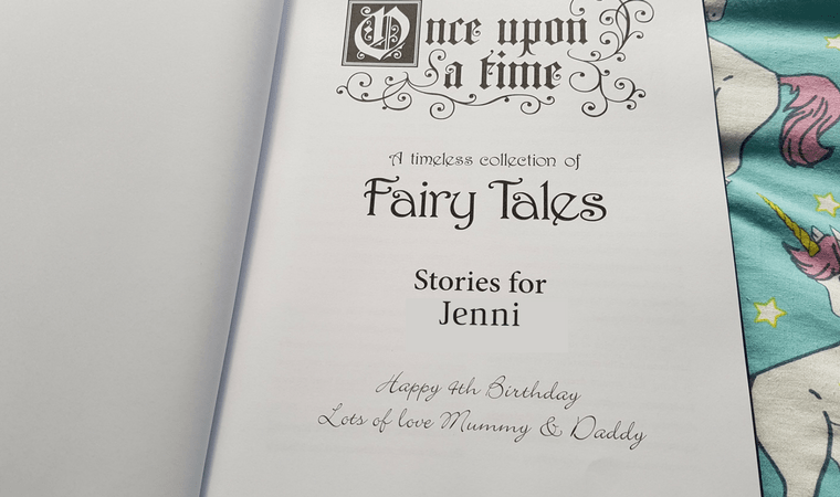 Inside Page of Once Upon A Time