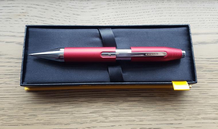 Cross X Crimson Rollerball Pen - Open