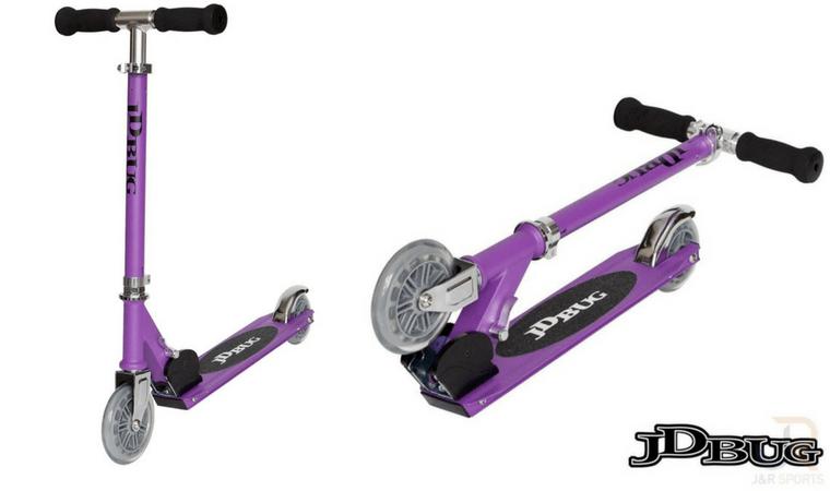 JD Bug Junior Street Scooter Purple Matt