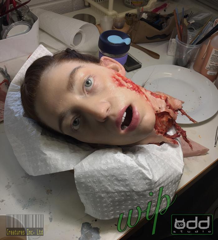 Odd Studio AlienCovenant Rosenthal Dismembered Head