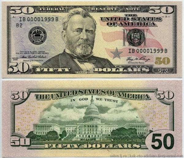 Making of US Dollar