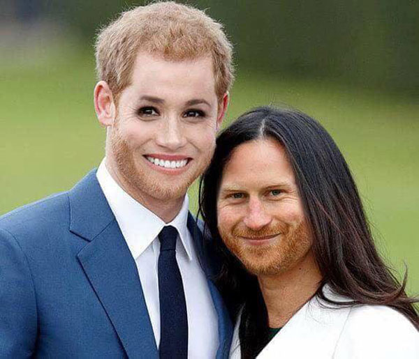 Royal face swap