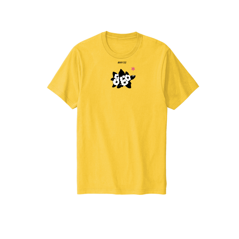 Power to the flower. tee
