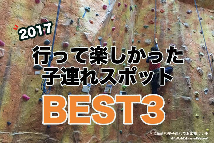 2017年行って楽しかった北海道の子連れスポットBEST3