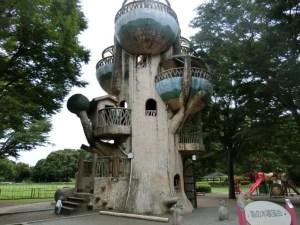 相模原公園の森の木展望台
