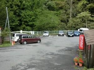 榛名神社の駐車場