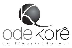 Logo Ode Kore Coiffeur Createur