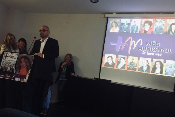 Òdena a Fons convidada a la presentació de l'agrupació d'electors Més Monistrol