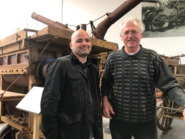 Òdena a Fons Avancem va assistir a la inauguració del Museu de les eines antigues del camp.